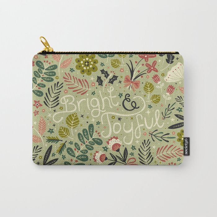 Bright & Joyful Carry-All Pouch