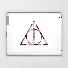 The Girly & Deathly Hallows Laptop & iPad Skin