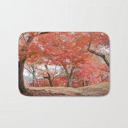 Autumn Romance Bath Mat