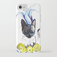mew iPhone & iPod Cases featuring Lily Mew by Sarah