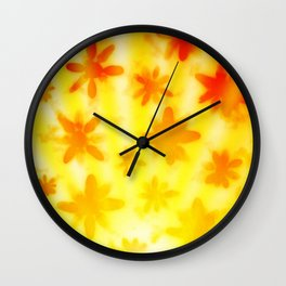 Sunshine Daisies Wall Clock