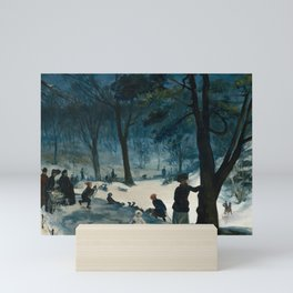 Central Park, Winter Mini Art Print