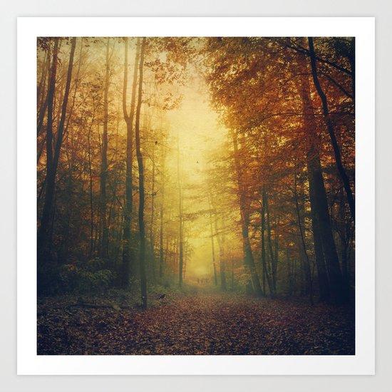 Autumn Morning Mood Art Print