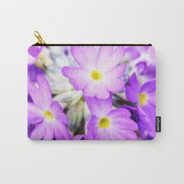 Primula denticulata in bloom Carry-All Pouch
