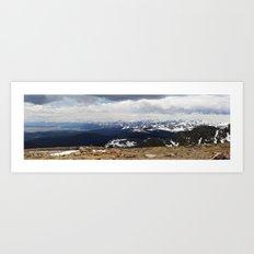 The Front Range Art Print
