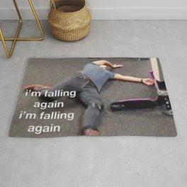 Falling HS meme Rug