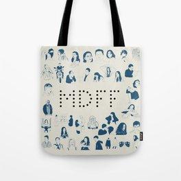 Anniversary Blue Tote Bag