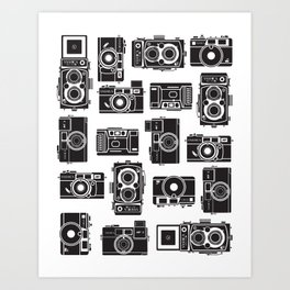 Yashica Bundle camera Art Print