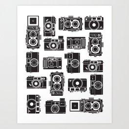 Yashica Bundle camera Art Print