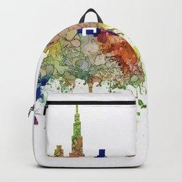 Chicago,Ilinois Skyline SG -Faded Glory Backpack