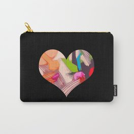 Deco Heart remix Carry-All Pouch