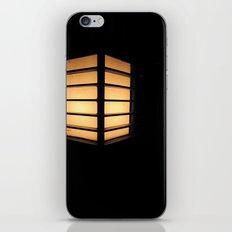 Asian Lamp in the night iPhone & iPod Skin