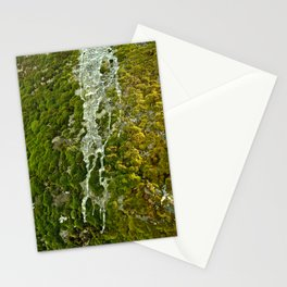 Moss and ice Stationery Cards