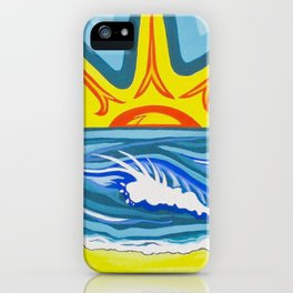 Surfers Summer Days iPhone Case