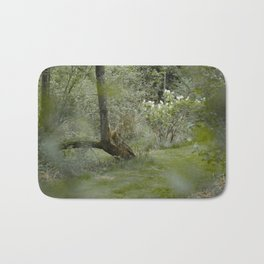 Through the Thicket in the Forest Bath Mat