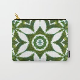 Palm Mandala (on white) #1 Carry-All Pouch