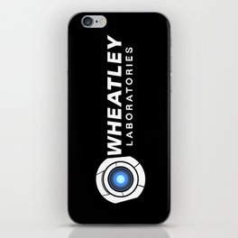 Wheatley Laboratories iPhone Skin