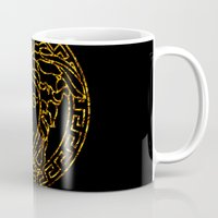 medusa Mugs featuring medusa by ECSTATIC