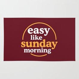 Easy like sunday morning Rug