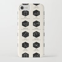 zodiac iPhone & iPod Cases featuring Zodiac by Dorothy Leigh