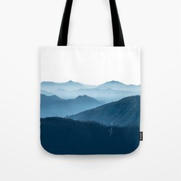 Cool Blue Tote Bag