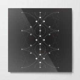 The Magicians Series - Pattern 6 Metal Print