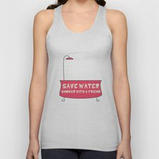 Save Water Shower With A Friend Unisex Tank Top