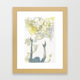 Gather Framed Art Print