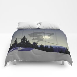 Touch The Morning Sun - Square | DopeyArt Comforters