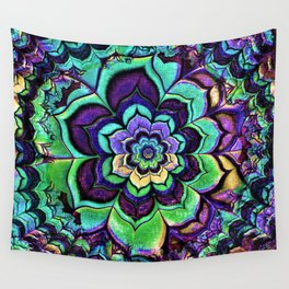 Multi-Colored Kaleidoscope Wall Tapestry
