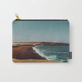 Red Beach 'Playa Roja' in the Paracas desert meets the Pacific Ocean in Peru Carry-All Pouch