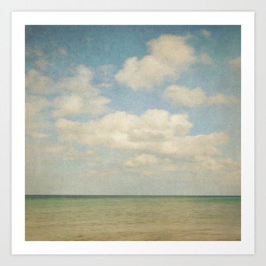 sea square III Art Print