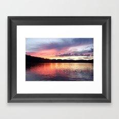 Lakeview Framed Art Print
