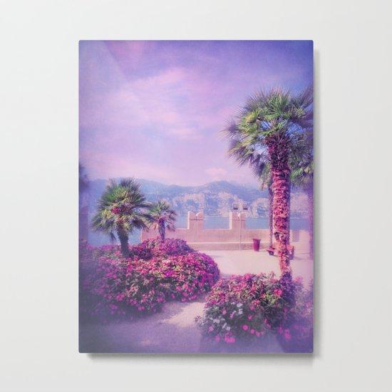 MEDITERRANEAN SUMMER PARADISE Metal Print