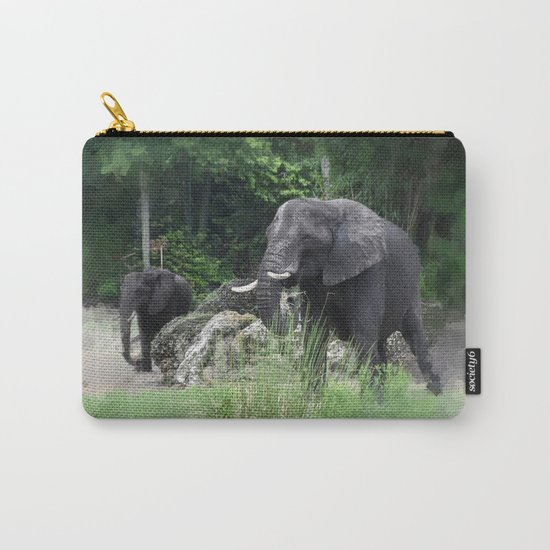 Elephant One Carry-All Pouch