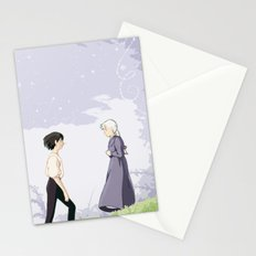 The Wizard and the Hatter Stationery Cards