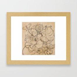 Talie Framed Art Print