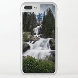 Natural Veils Clear iPhone Case