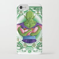 dragonball z iPhone & iPod Cases featuring DragonBall Z - Namek House by Art of Mike