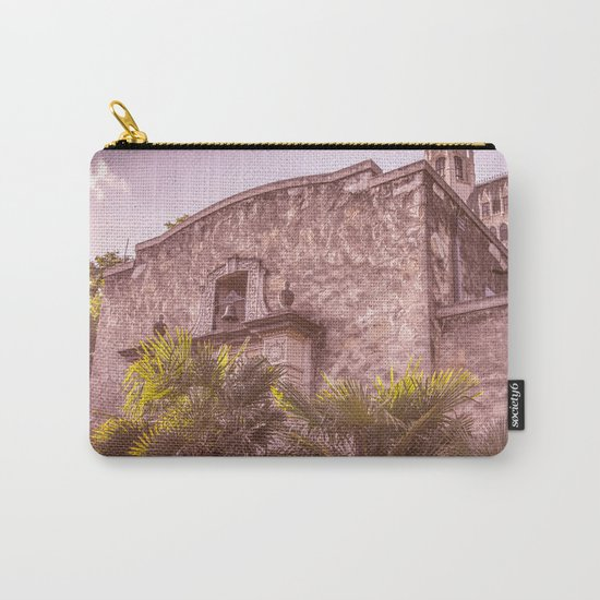 Palm Tree Summer - The Alamo Carry-All Pouch