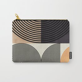lines & shapes III - abstract geometric Carry-All Pouch