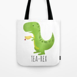 Tea-Rex Tote Bag