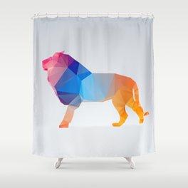 Glass Animal Series - Lion Shower Curtain