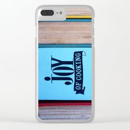 The Joy of Cooking Clear iPhone Case