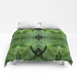 Leafy Four Comforters