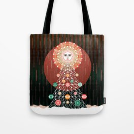 Christmas Tree by ©2018 Balbusso Twins Tote Bag
