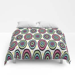 Whimsical Circle Pattern Comforters