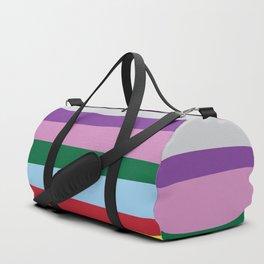 Multicoloured Duffle Bag