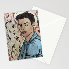 Nail Polish Painting of Shawn Mendess Stationery Cards