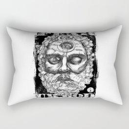 Believe the Dogma - Fear Your God Rectangular Pillow